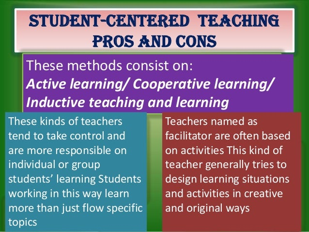 Childcentered teaching and interactive teaching methods for a better …