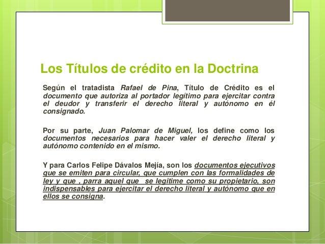 Títulos y Operaciones de Crédito (Generalidades) Slide 3