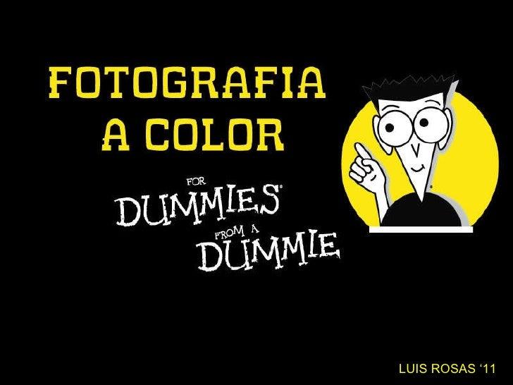 LUIS ROSAS '11