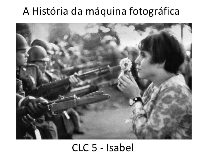 A História da máquina fotográfica<br />CLC 5 - Isabel<br />