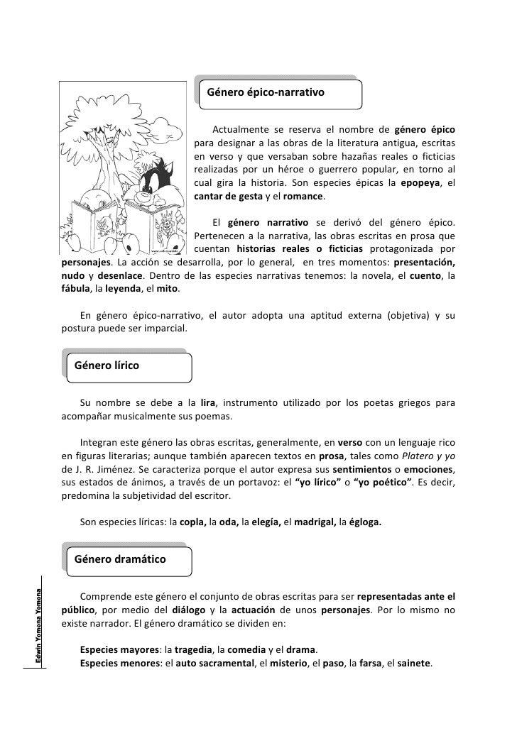 Tema nº 002   los géneros literarios Slide 2