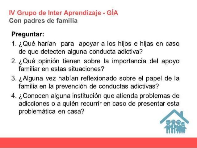 Tema prevención de conductas adictivas Slide 3