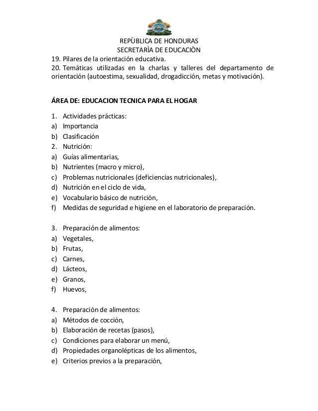 Temario - Temario curso manipulador de alimentos ...