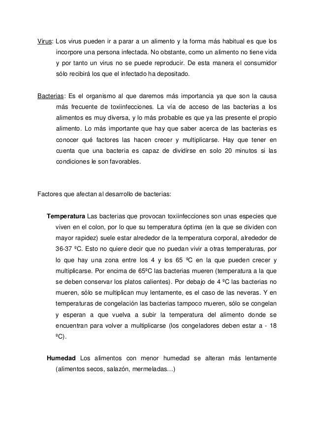 Temario curso para manipuladores de alimentos - Temario curso manipulador de alimentos ...