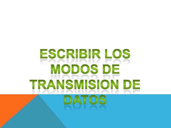 TRANSMISION ANALOGICALa transmisión analógica que datos consiste en elenvío de información en forma de ondas, a travésde ...