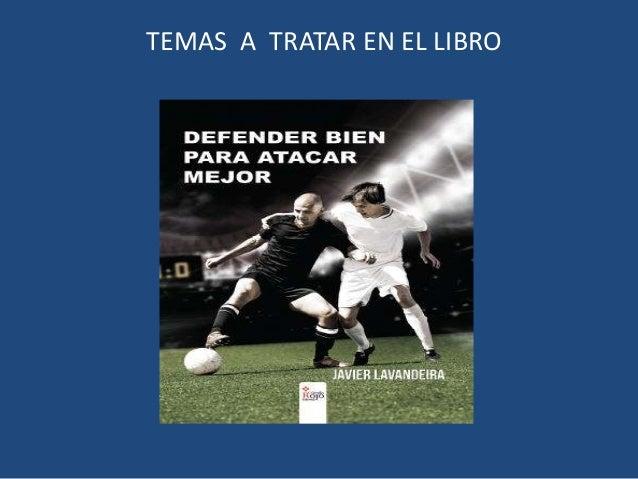 TEMAS A TRATAR EN EL LIBRO