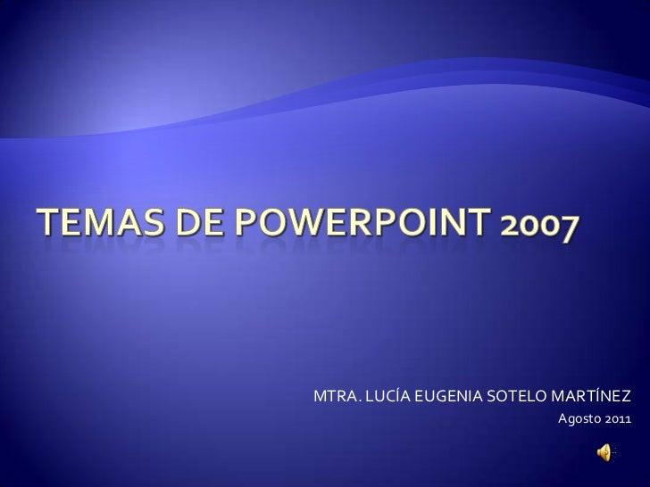 temas para power point