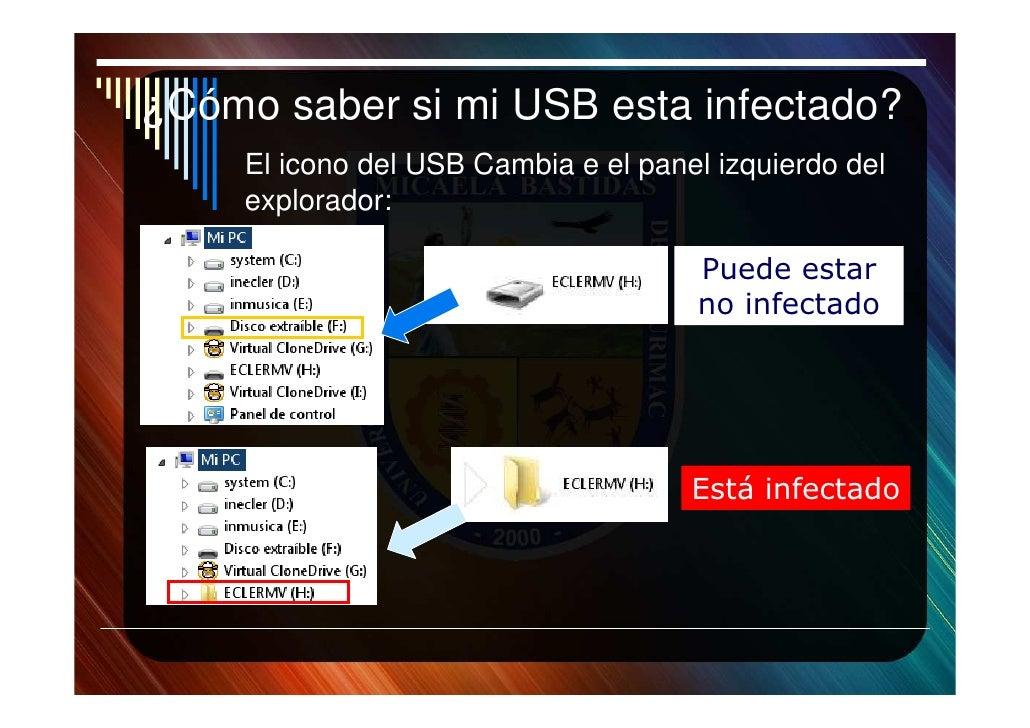 Virus de usb como detectar y eliminar - Como saber si un coche tiene cargas ...