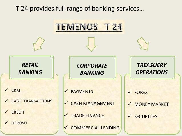 T24 + Treasury Trader | Temenos | Celent