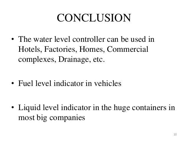 Water Level Indicator Using Ultrasonic Sensors