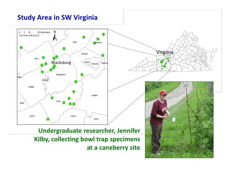 Study Area in SW Virginia                                               Virginia           Blacksburg      Undergraduate r...