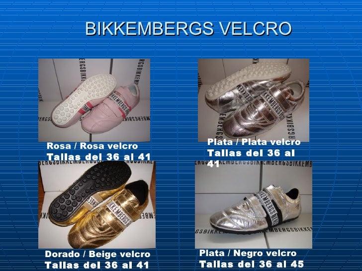 BIKKEMBERGS VELCRO Rosa/Rosa velcro Tallas del 36 al 41 Plata /Plata velcro Tallas del 36 al 41 Dorado /Beige velcro T...