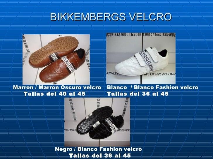 BIKKEMBERGS VELCRO Marron /Marron Oscurovelcro   Tallas del40 al 45   Negro / Blanco Fashion velcro   Tallas del 36 al ...
