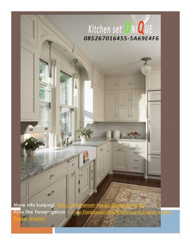 Tempat Pesan Kitchen Set Di Malang Kitchen Set Untuk Dapur Yang Keci
