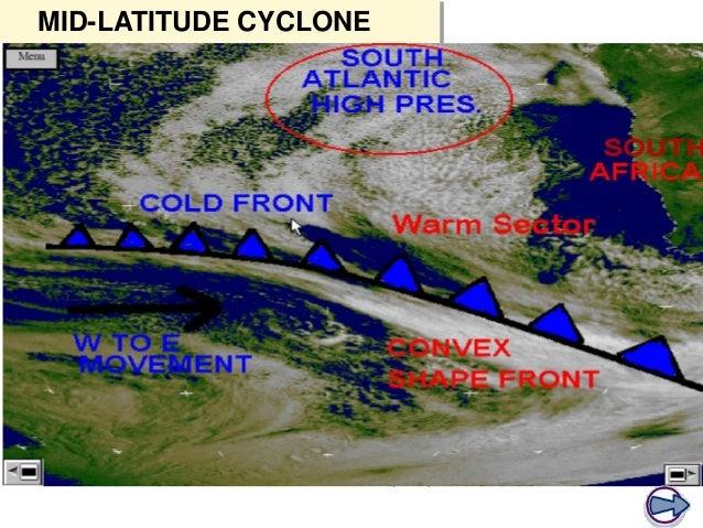 what happens when opposite air masses meet