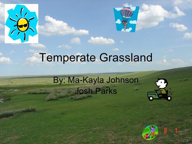 Temperate Grassland By: Ma-Kayla Johnson Josh Parks