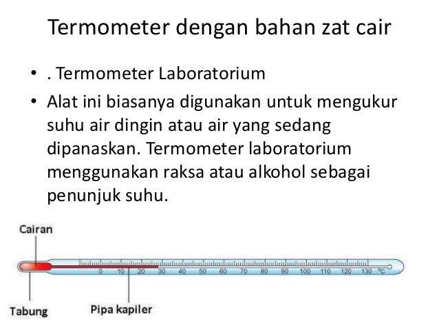 Prinsip Kerja Dari Termometer Zat Cair Yaitu - Info ...