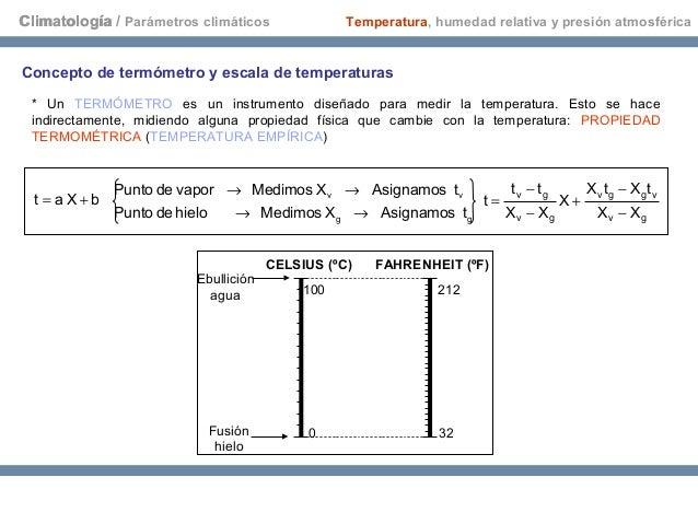 Temperatura humedad relativa y presi n atmosf rica - Humedad relativa espana ...