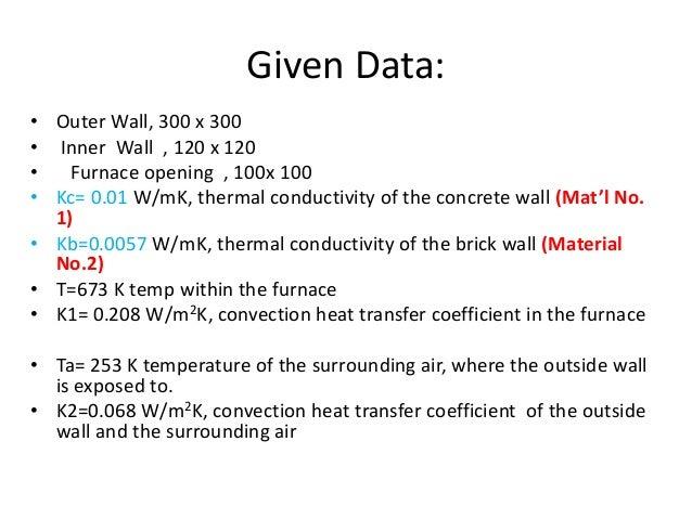 Temperature Distribution And Heat Flux Furnace Jan 01 2014