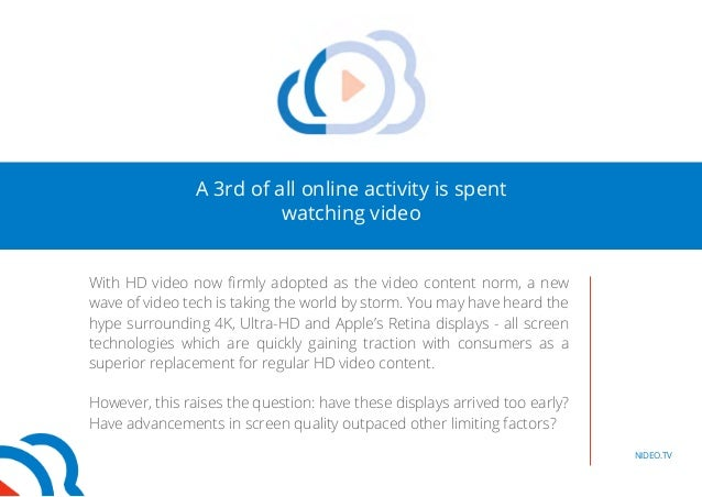 Video Content: Are We Ahead Of Our Time? Slide 2