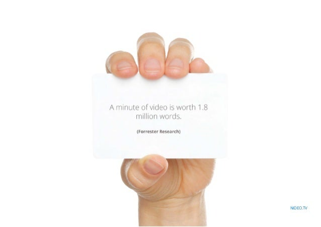 Video Content: Are We Ahead Of Our Time? Slide 3