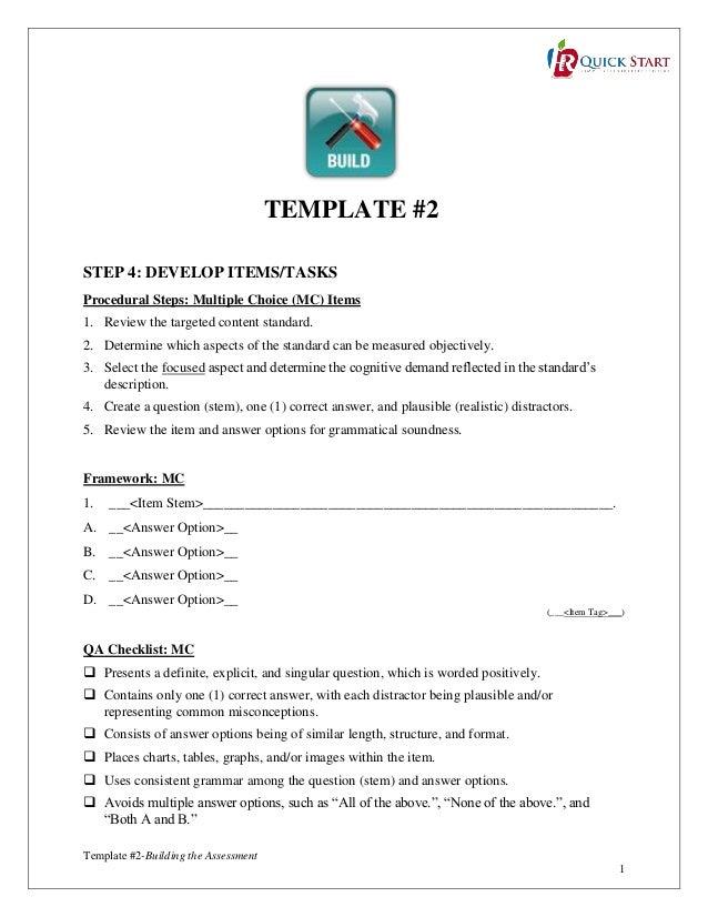 template 2 building the assessment 22jan14. Black Bedroom Furniture Sets. Home Design Ideas