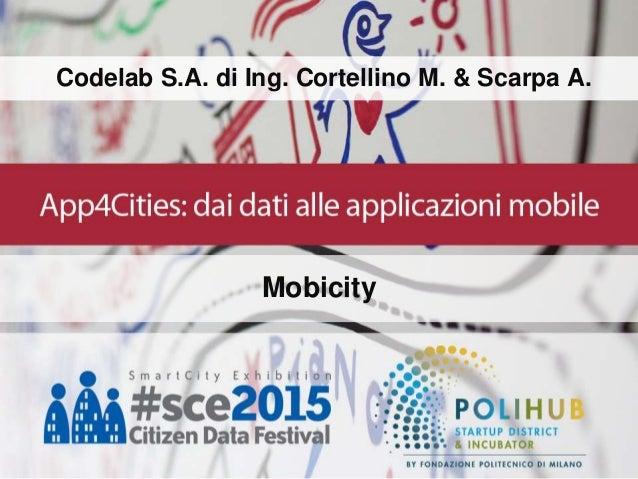Codelab S.A. di Ing. Cortellino M. & Scarpa A. Mobicity