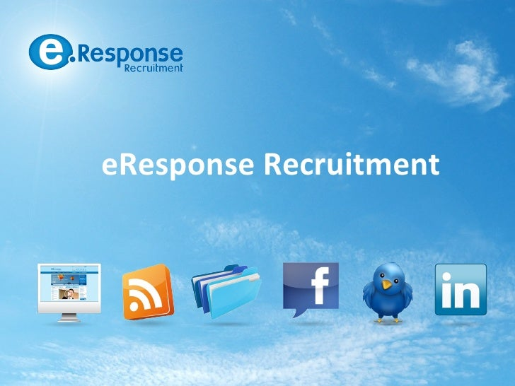eResponse Recruitment