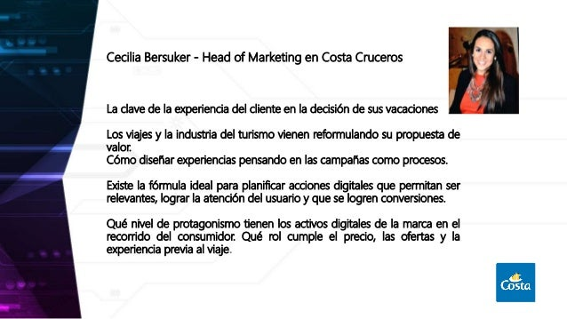 La clave de la experiencia del cliente en la decisión de sus vacaciones Slide 2