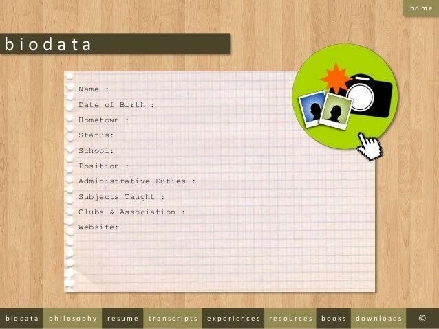 Eportfolio Template - E portfolio templates