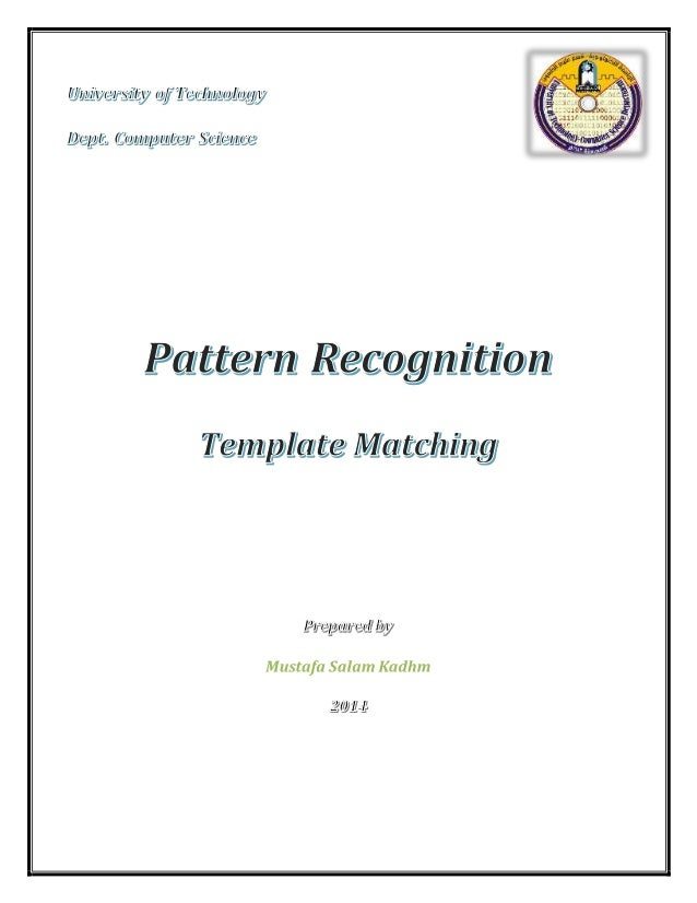 1. INTRODUCTION  Template matching is a technique in computer vision used for finding a sub-image  of a target image which...