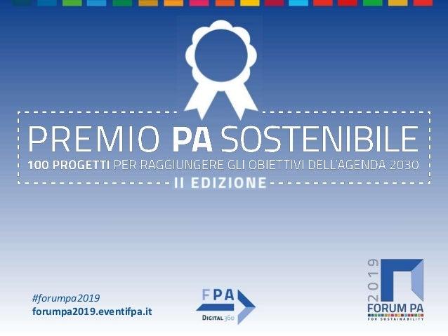 #forumpa2019 forumpa2019.eventifpa.it