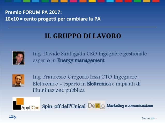 Template premio forum pa 2017 smart light auditor Slide 3