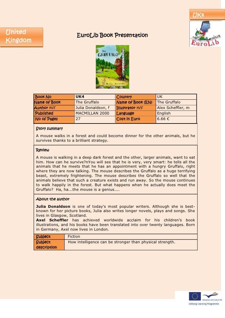 UK4   United                         EuroLib Book Presentation Kingdom               Book No             UK4              ...