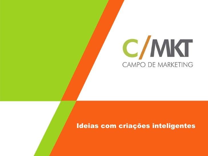 Ideias com criações inteligentes