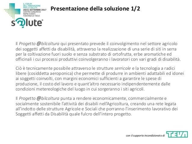 Presentazione Progetto @bilcoltura (versione pptx) Slide 3