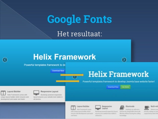 Templates maken met helix framework Joomla User Group
