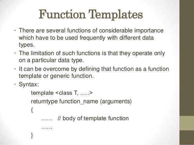 Templates presentation function templates maxwellsz