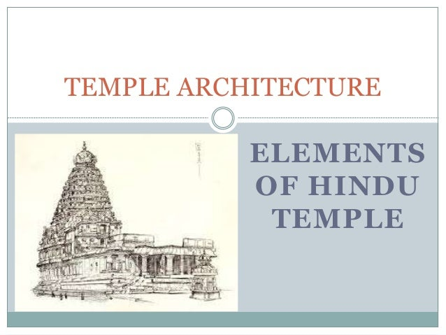 Hindu temple architecture ppt to pdf