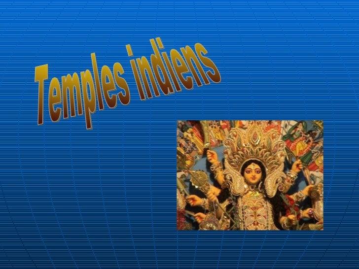 Temples indiens