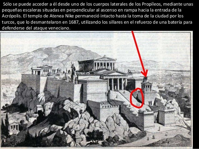 Templo Atenea Nike, acrópolis Atenas