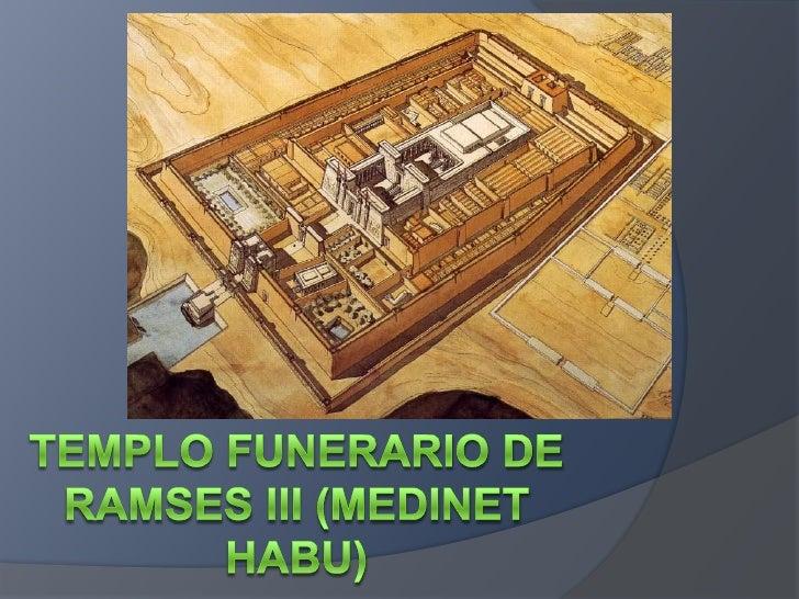 Resultado de imagen de Templo funerario de Ramsés III