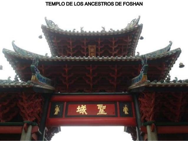 TEMPLO DE LOS ANCESTROS DE FOSHAN