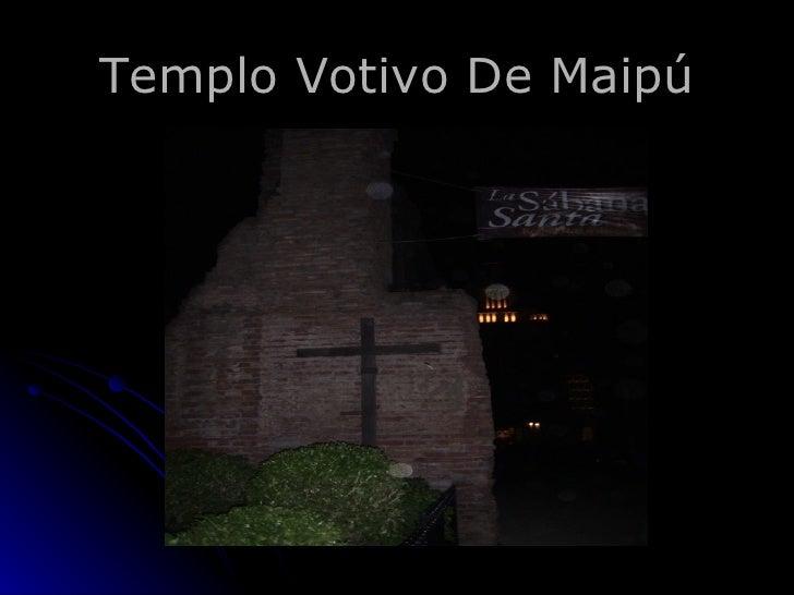 Templo Votivo De Maipú