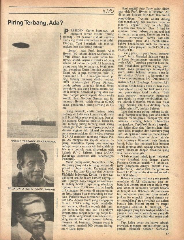 Majalah Tempo, 12 Pebruari 1977 (UFO) Slide 2