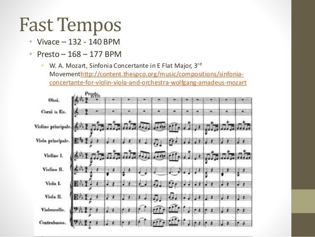 Tempo and Dynamics
