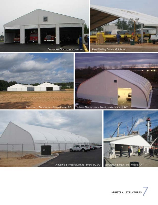 Temporary Industrial Structures 2015 Brochure