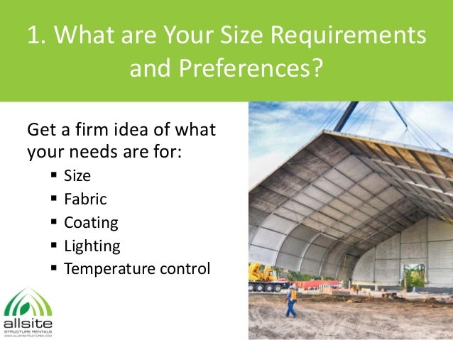 Temporary Building Enclosures - 10 Things to Consider Slide 2