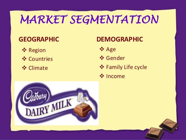 nestle demographic segmentation Nestle australia ltd led australian coffee sales in 2016 with a retail value  share of  the australia coffee market, based on type, has been segmented into .