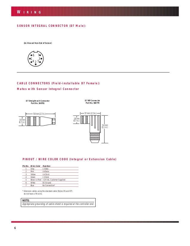 temposonics e series wiring diagram temposonics temposonic